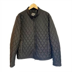 Vince Camuto Puffer Quilted Jacket Black Size XL